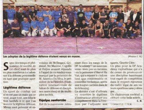 Hervé Ha Van rejoint les rangs de la DP Academy Raphaëloise