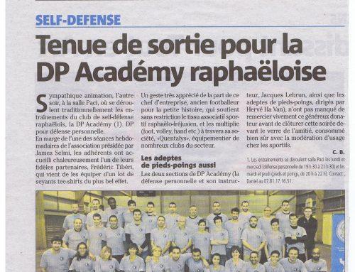 Tenue de sortie pour la DP Académy raphaëloise