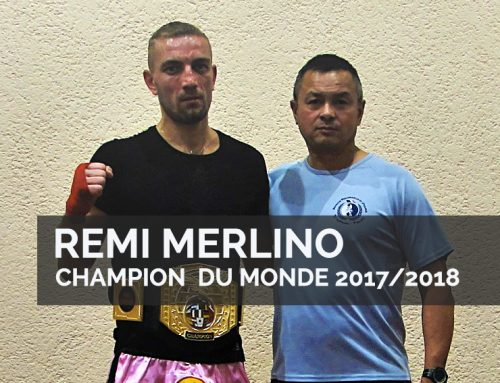 Remi Merlino Champion du monde 2017 – Préparateur Physique Hervé Ha Van de DP/ACADEMY