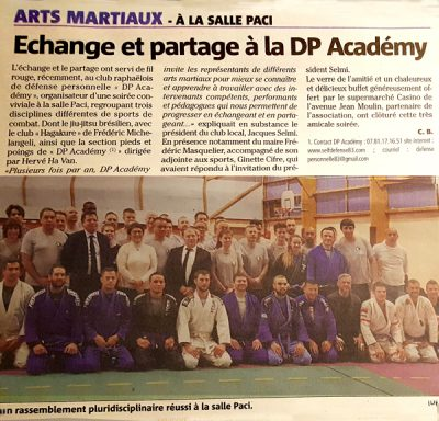 ART MARTIAUX DP ACADEMY