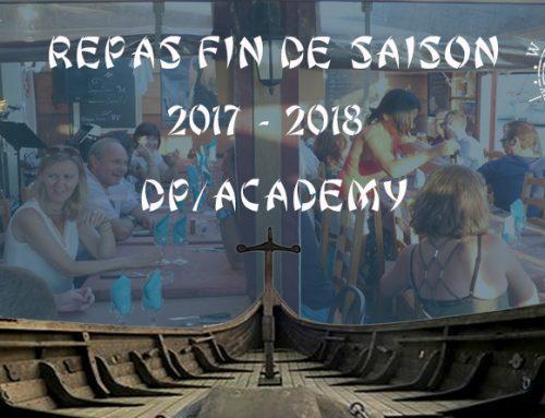 Soirée fin de saison 2017-2018 de DP Academy au restaurant «Le Drakkard»