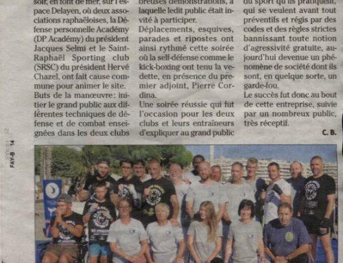 Sport de combat, la défense passe à l'attaque avec DP ACADEMY club de self défense de Fréjus et Saint-Raphaël
