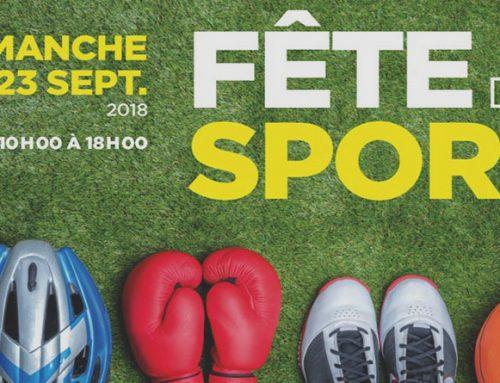 DP/ACADEMY présent à la fête du sport de  Saint-Raphaël