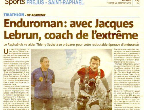 EUROMAN: avec Jacques Lebrun, coach de l'extrême