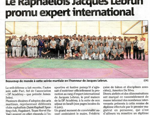 Jacques Lebrun promu Expert International