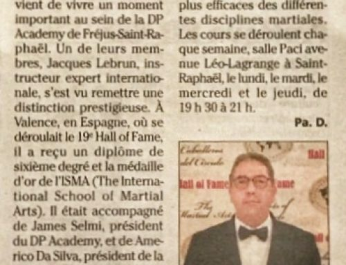 Jacques Lebrun se distingue au 19eme Hall of Fame
