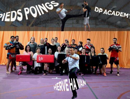 Cours de Pieds Poings avec notre instructeur Hervé Ha Van