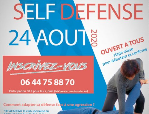 STAGE SELF DEFENSE semaine du  24 AOUT 2020 – Au bord de mer